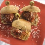 Meatball sliders by Angela Roberts