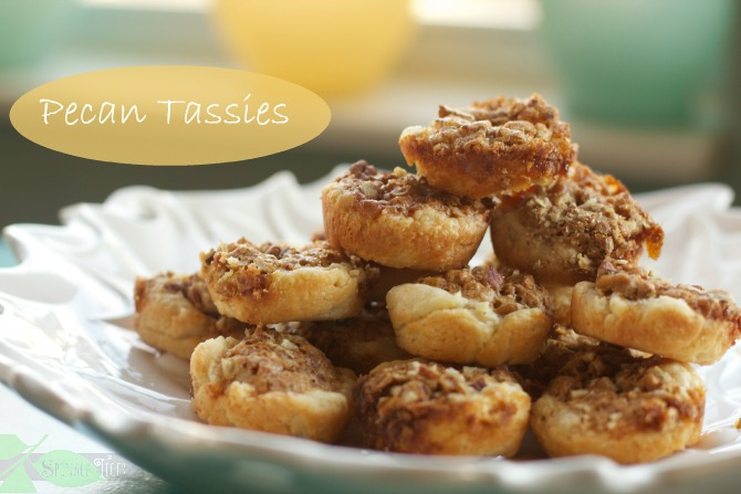 Pecan Tassies from Spinach TIger
