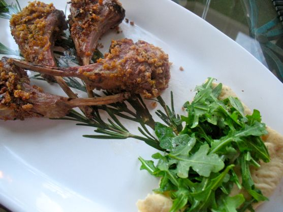 lollypop lamb chops by angela roberts