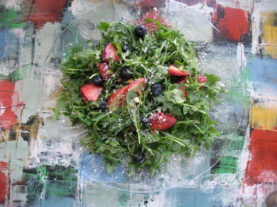 Arugula Salad by Angela Roberts