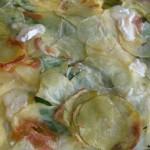 Eggs with Potato Blanket