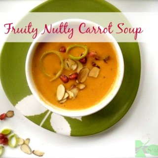 Fruity Nutty Carrot Soup