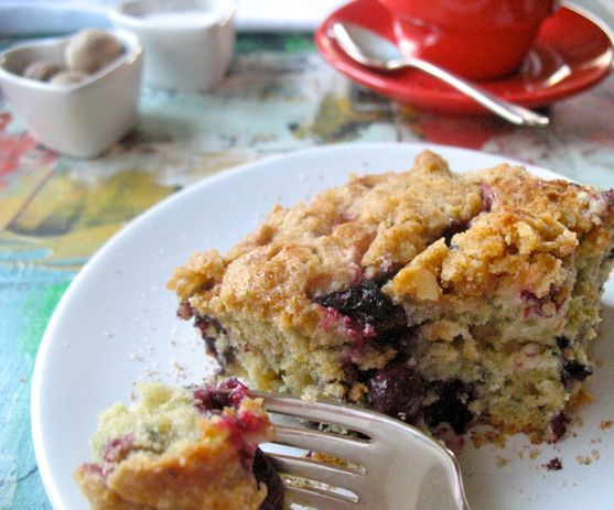 Tuesdays with Dorie, Blueberry Crumb Coffee Cake