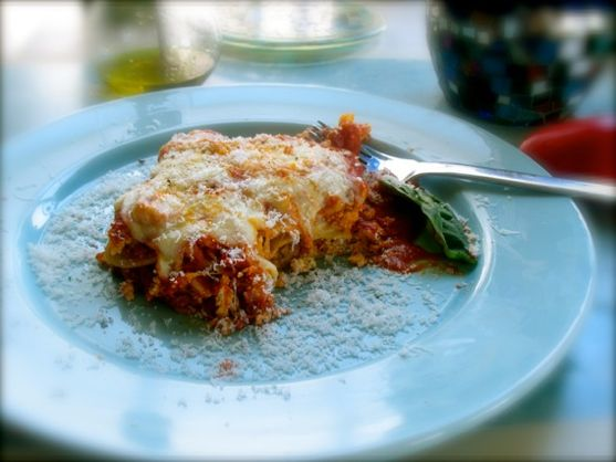 Meatball Lasagna by Angela Roberts