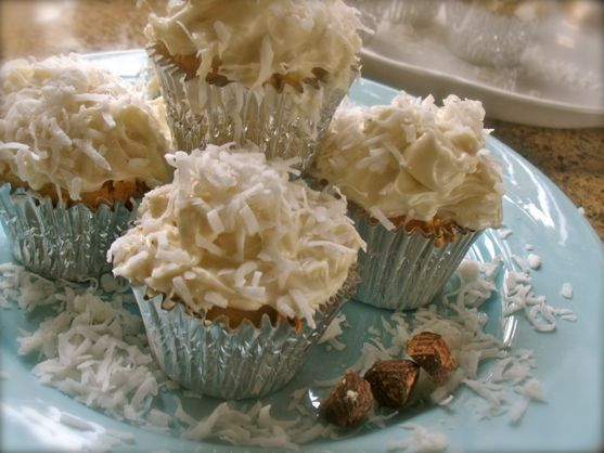 Coconut Cupcakes made Two Ways
