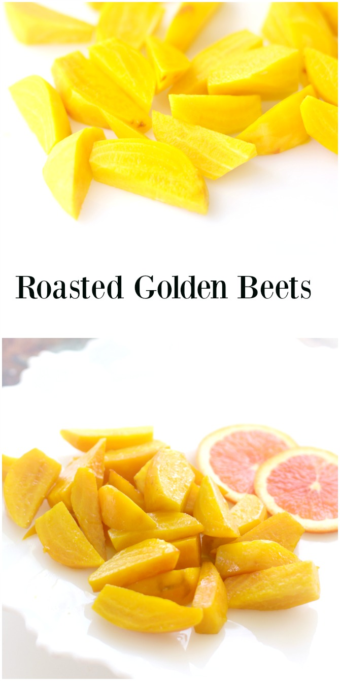 Roasted Golden Beets from Spinach TIger