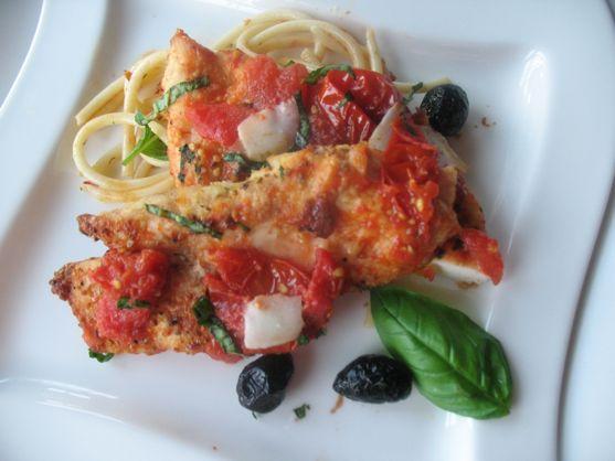 Spring Chicken Parmesan