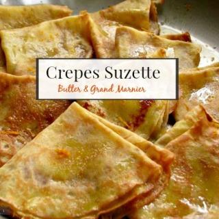 Crepes Suzette, A Romantic Recipe