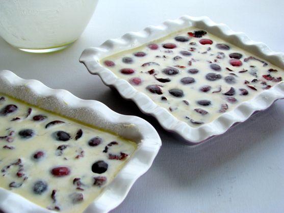 Clafoutis aux Cerises – Classic Cherry Clafoutis