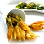 Fried Squash Blossoms by Angela roberts