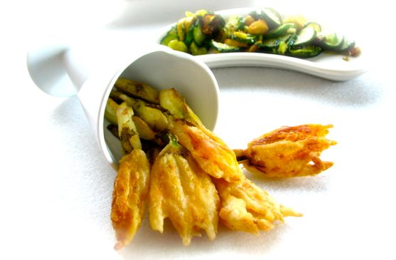 Post Edit: I've made some more squash blossoms (from my own garden ...