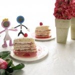 Raspberry Vanilla Party Cake by Angela Roberts