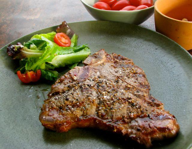 Cooking Italy: Bisteca Fiorentine-T-Bone Steak, Florentine Style