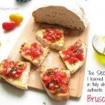 Tomato Bruschetta by Angela Roberts