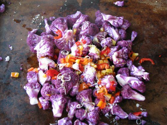 Purple Cauliflower Parties On