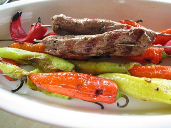 Cooking Italy: Arrosticini Abruzzesi – Skewered Marinated Lamb Tidbits