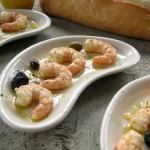Poached Shrimp with Olive Oil and Lemon Juice