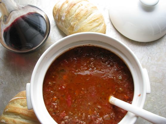 Authentic Marcella Hazan Bolognese Sauce with Fresh Pasta