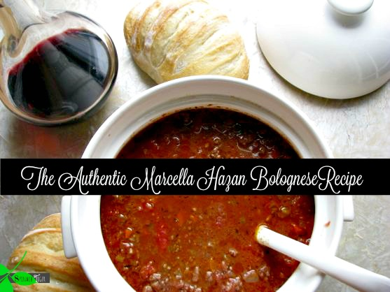 Authentic Marcella Hazan Bolognese Recipe