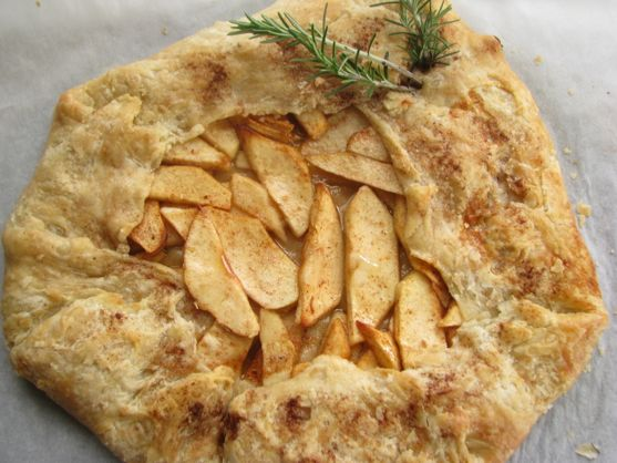 Apple Galette Kissed By Rosemary