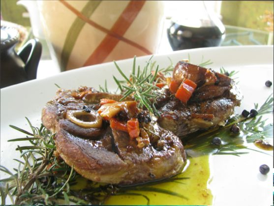 Cooking Italy: Pan Roasted Lamb with Juniper Berries
