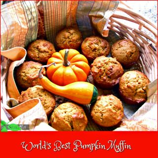 Pumpkin Muffins and the Pumpkin Shortage in 2016