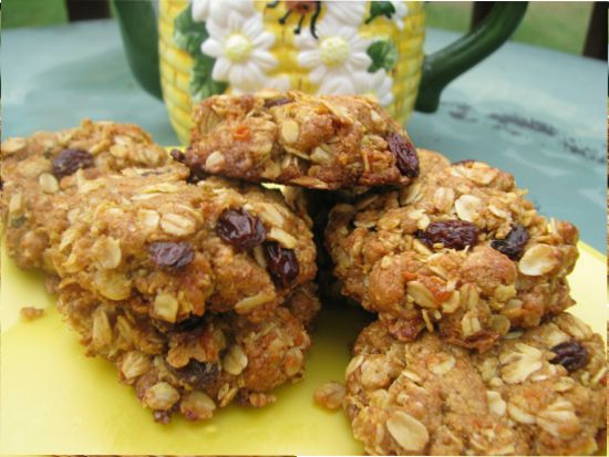 Brown Butter Raisin Oatmeal Travel Cookies