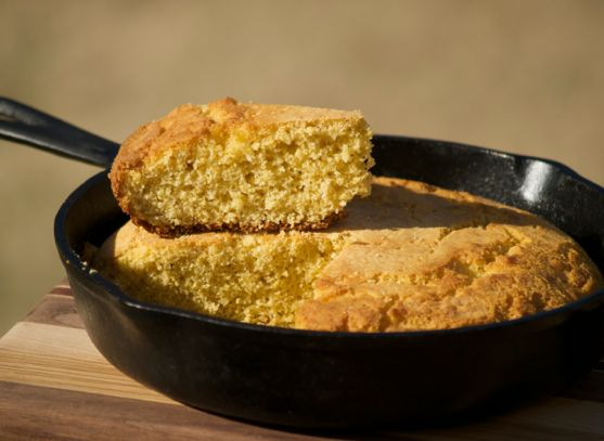 White Bean Chili, Buttermilk Cornbread Keeps Up the Pace