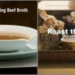 Homemade Beef broth by Angela Roberts