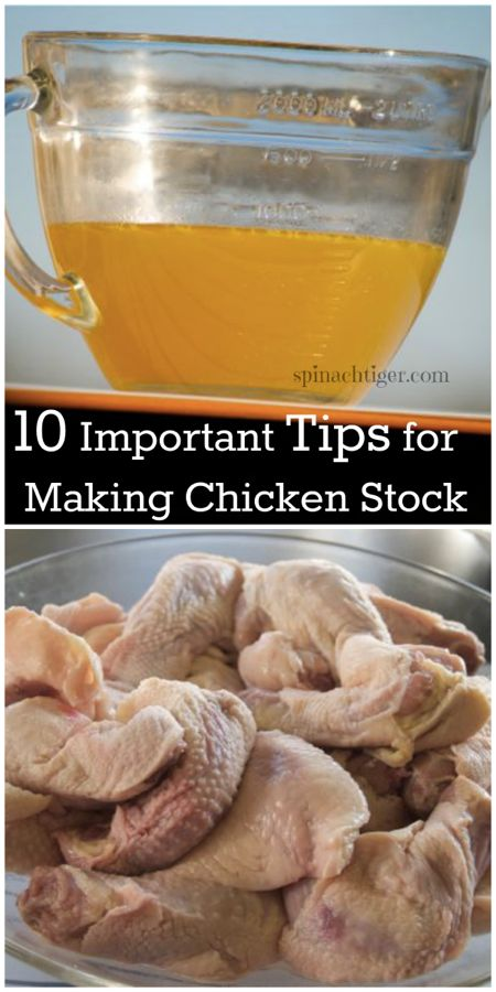 10 Tips for Making Chicken Stock by Angela Roberts