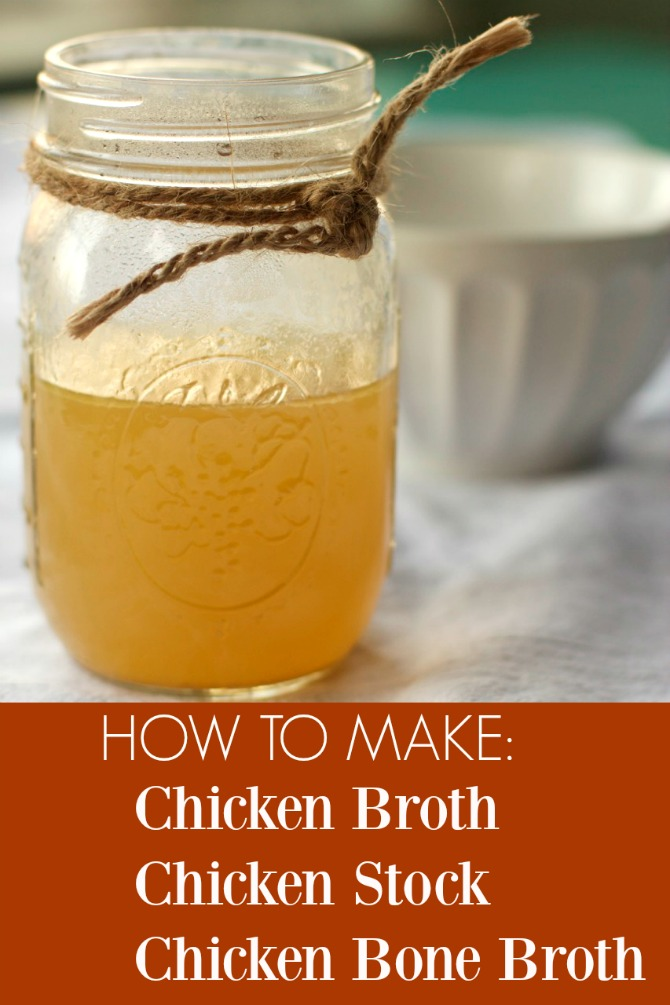 Ten Tips for How to Making Chicken broth, Bone Broth