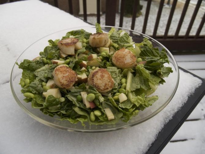 Scallop Salad by angela Roberts