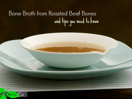 Beef Stock, Bone Broth by Angela Roberts