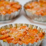 Carrot Leek Tart by Angela Roberts