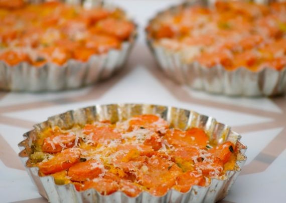 Cooking Italy: Savory Leek and Carrot Tart and Will the Real Parmigiano-Regianno Please Stand Up?
