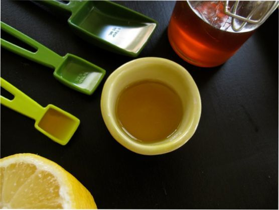 Lemon Honey Salad Dressing, Micro Greens