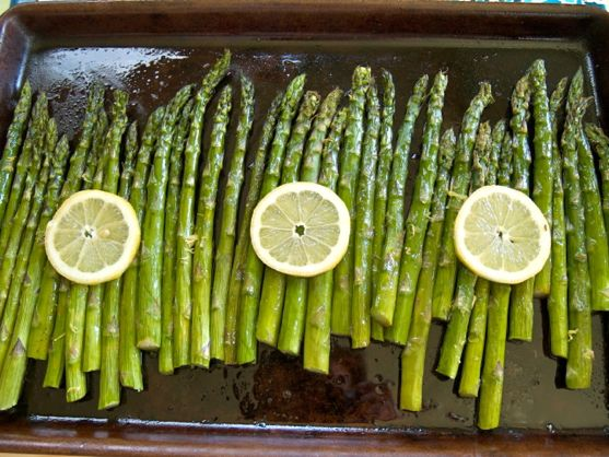 Roasted Asparagus by Angela Roberts