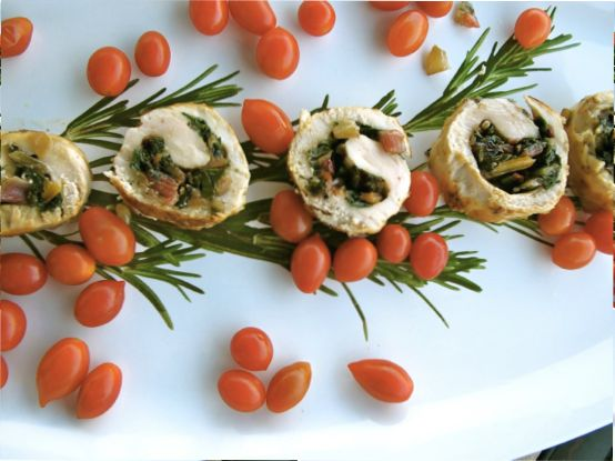 Chicken Roulade by Angela Roberts