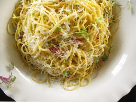 Cooking Italy: Spaghetti Carbonara