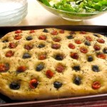 Rosemary Foccacia with Olives