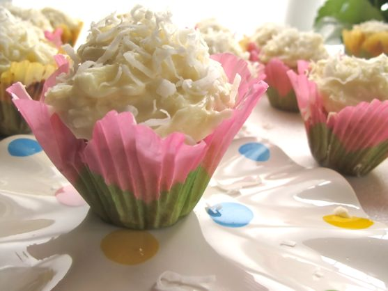 Award Winning Coconut Cupcakes