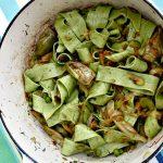 La Fritteda with Pasta, Artichokes, Peas, Fava Beans