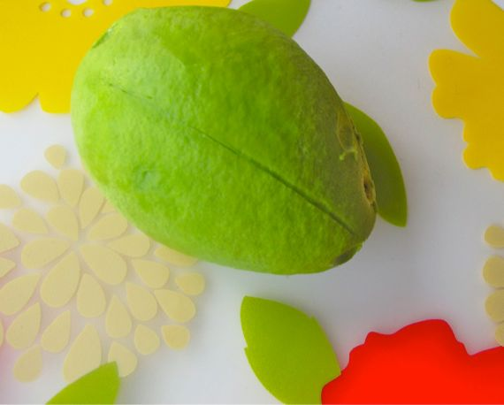 How to Peel an Avocado by Angela Roberts