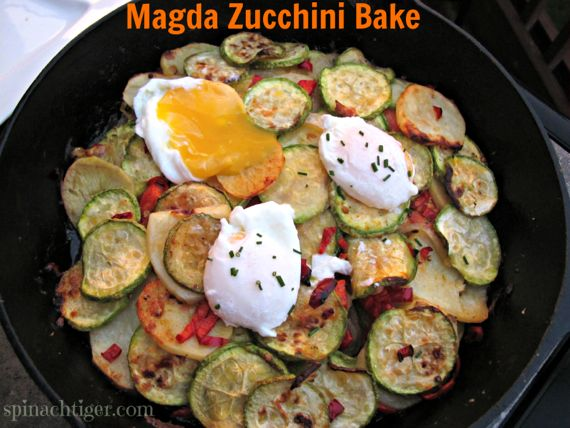 Magda Zucchini Bake, When Chubby is Better than Slender