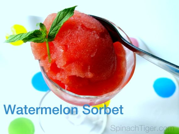 Watermelon Sorbet by Angela Roberts