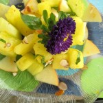 Yellow Doll Watermelon Salad by Angela Roberts