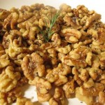 Rosemary Roasted Walnuts Kick off Cocktail Party for 100