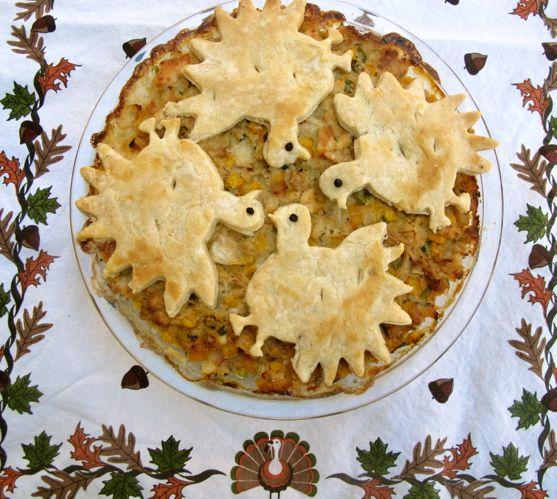 Turkey Pie Reinvented