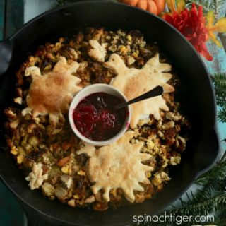 Thanksgiving Leftovers: Turkey Pie Reinvented