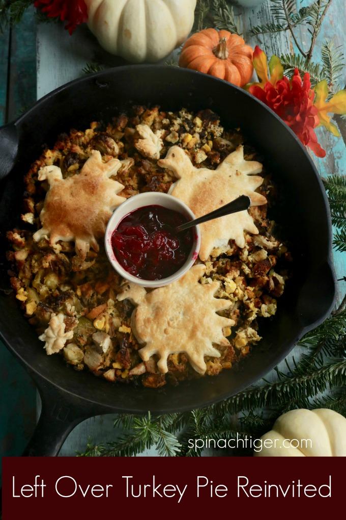 Thanksgiving Recipe: Turkey Pie Reinvented from Spinach Tiger